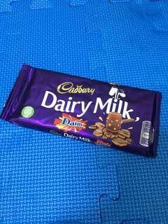 🚚 Diary milk 巧克力