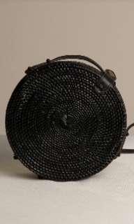 Black rattan bag (Price reduced) #shero