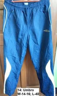 Umbro outdoor pants