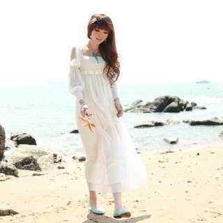 長裙荷葉邊裙擺超奢華秋裝新款修身蕾絲拼接連衣長裙