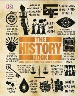 ( MINGGU SPESIAL ) The History Book Big Ideas Simply Explained ebook