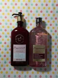 🆕 BN Bath & Body Works Aromatherapy 'Peppermint' & 'Patchouli' Items