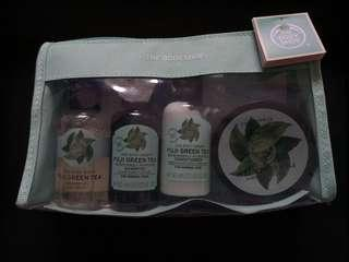 The Body Shop Fuji Green Tea™ Beauty Bag