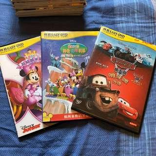 兒童DVD 3隻