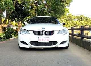 ❧佛系女孩 妍 ❧ 2006/7 BMW M5 天使白 自排 天窗 麂皮 動態座椅 滿配