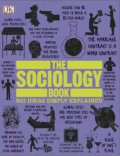 ( MINGGU SPESIAL ) The Sociology Book Big Ideas Simply Explained ebook