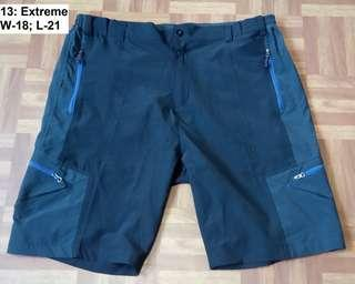 Extreme outdoor shorts