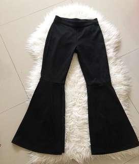 Cut bray pants