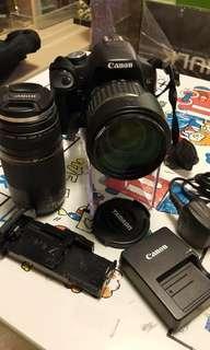 Canon 500D +Canon EF 75-300mm f4-5.6 III USM +Tamron SP 17-50mm f2.8 XR Di II VC
