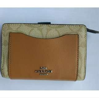 BN Authentic Coach Ladies Wallet from Europe - Khaki