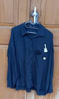 Zara black shirt Original store