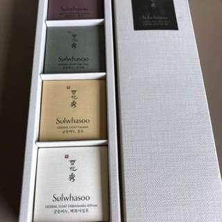 Sulwhasoo Herbal Soap Trial Kit