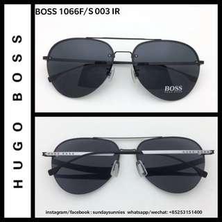 8643ed3397 Hugo Boss 1066F S aviator titanium frame sunglasses · Hugo Boss 1066F S  aviator titanium frame sunglasses. S 260. Hugo Boss Titanium eyewear ...
