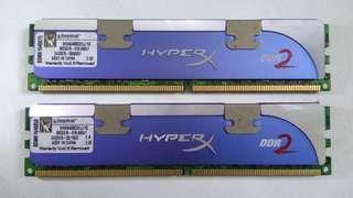 Kingston Hyper DDR2 Ram 1Gb x2 (matched pair)