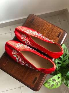 Oriental Chinese shoes