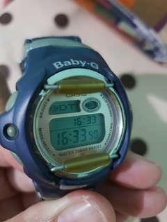 #BaPau CASIO BabyG Navy Denim strap