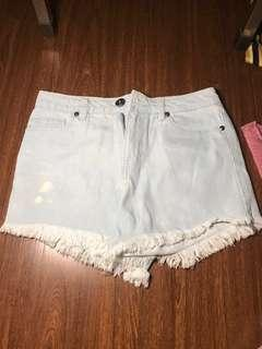 Folded and Hung Highwaist shorts