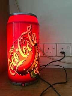 Coca Cola Lamp