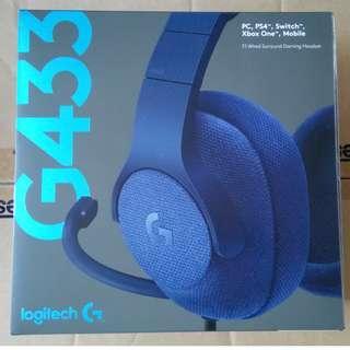 Logitech G433 - Wired Surround Gaming Headset (Ori Price: RM265) #TRU50