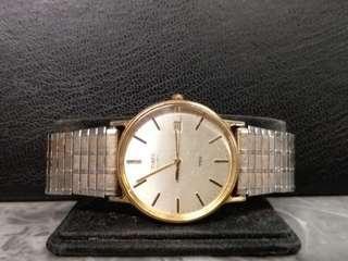 Timex 男庄日曆石英錶32mm (205)