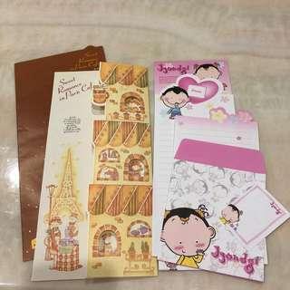 🚚 韓國造型信封信紙組