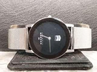 全新SKAGEN Denmark 男庄超薄石英手錶32mm (210)