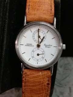 Girard Perregaux GP 芝栢女庄Equation Temps 日曆小三針石英錶27mm (211)