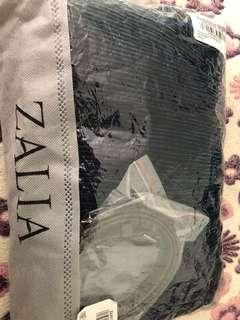ZALIA Embellished Metallic Pleated Maxi Dress