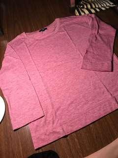 Gap Pink Long Sleeves