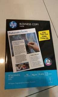🚚 HP A4影印紙 500張