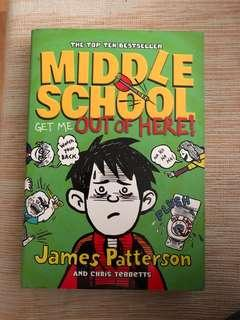 🚚 Middle school get me out of here by james Patterson
