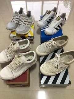 Adidas Ultraboost US 8.5W UK 7 not bape off-white balenciaga nbhd nike wtaps