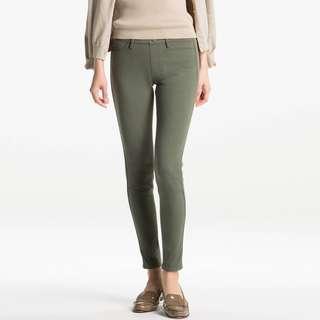 UNIQLO Olive Green Leggings