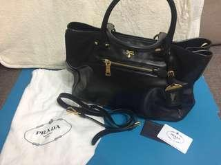 Prada Larger Shopping Tote Bag