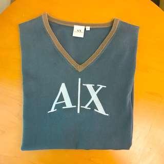🚚 AX短袖V領T恤(二手正品)