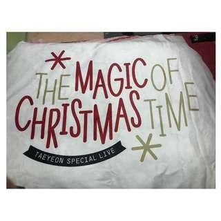 全新 少女時代 太妍 泰妍 聖誕節 周邊 毛毯 The Magic of Christmas Time Taeyeon