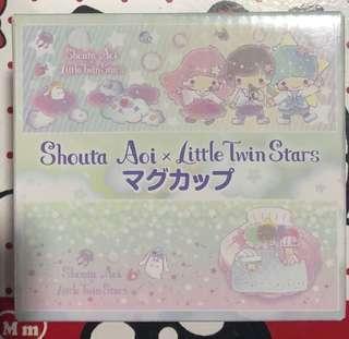 Little Twin Stars x Shuota Aoi 玻璃杯