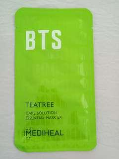 BTS MEDIHEAL TEATREE CARE SOLUTION ESSENTIAL MASK EX
