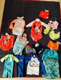 Swimwear for baby and kids
