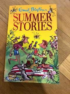 🚚 Summer stories by Enid Blyton