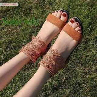 Sale ! Ankle Strap flat sandals for Women