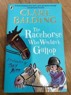 🚚 The racehorse who wouldn't gallop by Clare balding