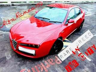Rare Alfa Romeo for Rent