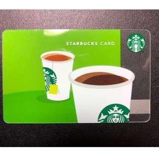 Starbucks Card - Hong Kong (#1)