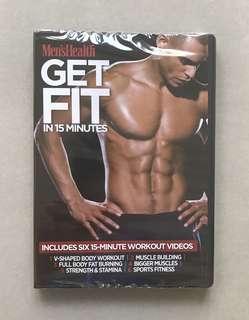 Men's Health - Get Fit in 15 minutes DVD