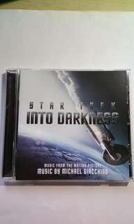 CD Soundtrack Into Darkness Star Trek