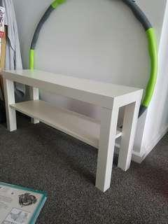 Classy white coffee table