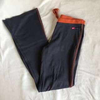 Gray track/workout pants