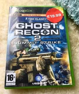 Authentic Xbox Game - Ghost Recon 2