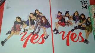Twice Yes or Yes version C album Poster